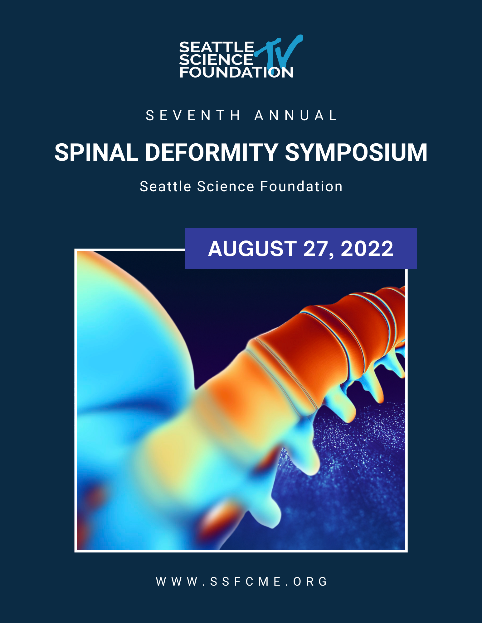 6th Annual Spinal Deformity Symposium Banner